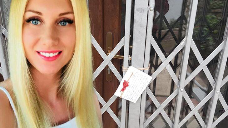 Elleri kelepçeli evinde ölü bulunan Ukraynalı kadın, en son yemek siparişi vermiş!