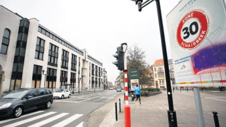 Brüksel'de 30 km/s hız sınırı!