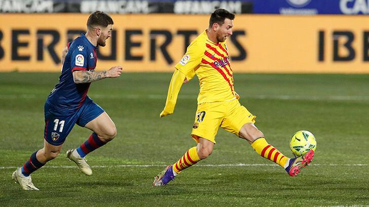 Messi asist yaptı, Barcelona'ya puanı Frenkie de Jong getirdi!