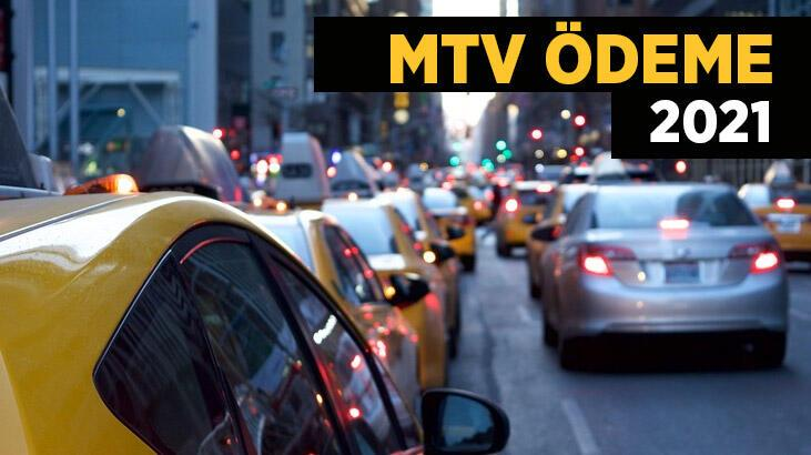 MTV ödeme ne zaman? Motorlu Taşıtlar Vergisi 2021 MTV hesaplama nasıl yapılır?