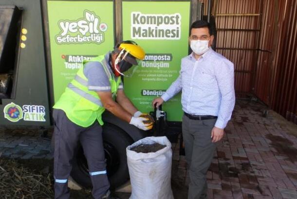 Kepez'in çevreci projesine bir ödül daha