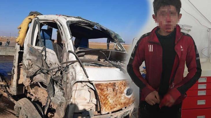 Suriye'nin kuzeyinde teröristlerden EYP'li saldırı! 2 çocuk öldü, yaralılar var