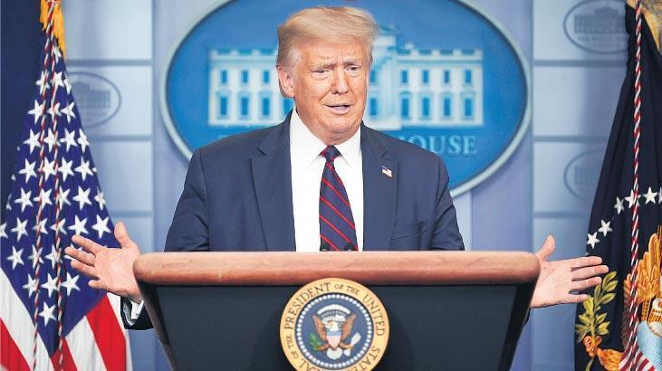 Trump: Demokratlar Senato'yu ve Beyaz Saray'ı bizden çalmaya çalışıyor