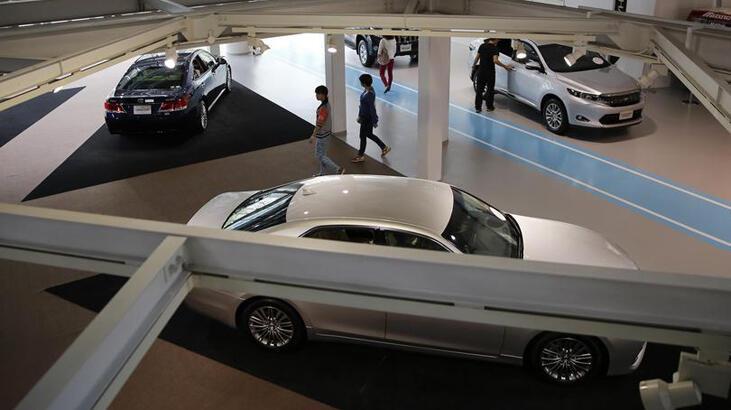 Japonya'da yeni otomobil satışları sert geriledi