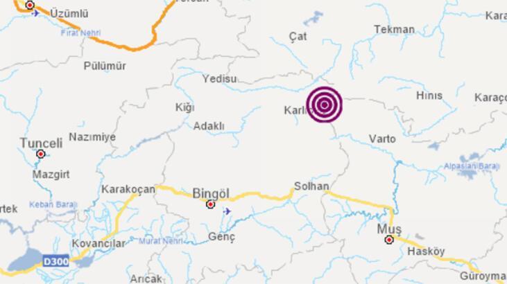 Son dakika... Bingöl'de korkutan deprem