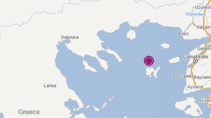 Son dakika... Ege Denizi'nde 4.1 büyüklüğünde deprem