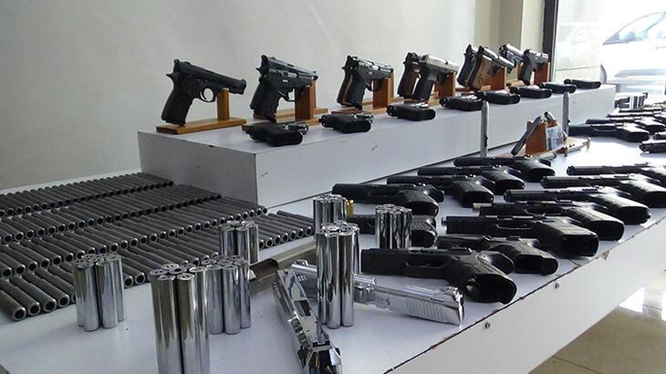 İstanbul'da yasa dışı silah ticareti operasyonu!