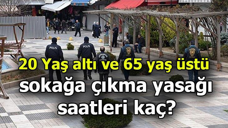 20 Yaş altı ve 65 yaş üstü kısıtlaması ne zaman bitecek? 20 yaş altı ve 65 yaş üstü sokağa çıkma yasağı 15 Ocak'ta bitiyor mu?