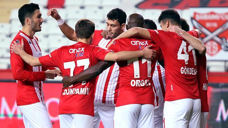 Antalyaspor, ilk yarının kalan maçlarını kayıpsız tamamlamak  istiyor