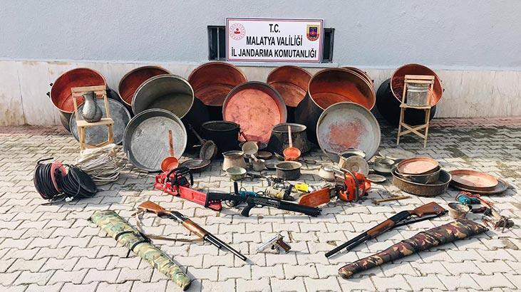 Sivas'ta hırsızlık yapıp Malatya'da yakalandılar
