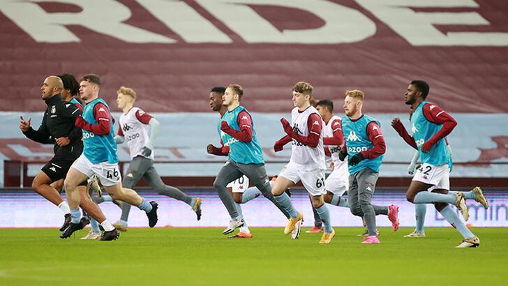Aston Villa'da Liverpool maçı öncesi şok!