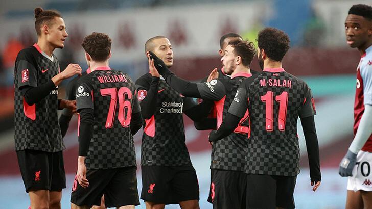 Liverpool, Aston Villa'yı rahat geçti!