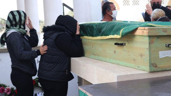 Aile faciasının kurbanları toprağa verildi
