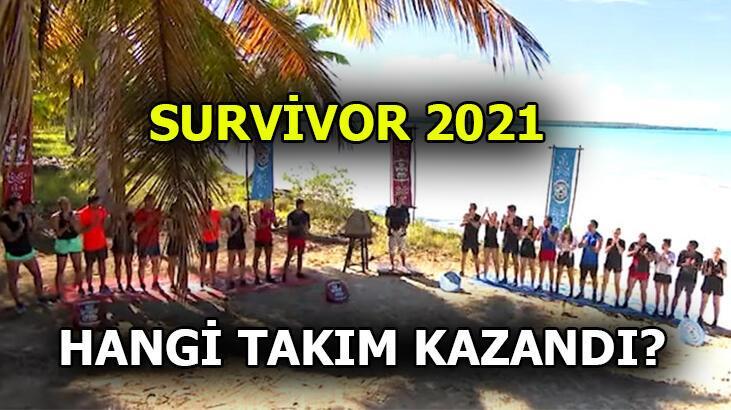 Survivor'da kim, hangi yarışmacı Ünlülere gitti? Survivor 2021'de ödül ve dokunulmazlığı hangi takım / kim kazandı?