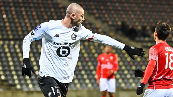 Burak Yılmaz golünü attı, Lille kazandı!