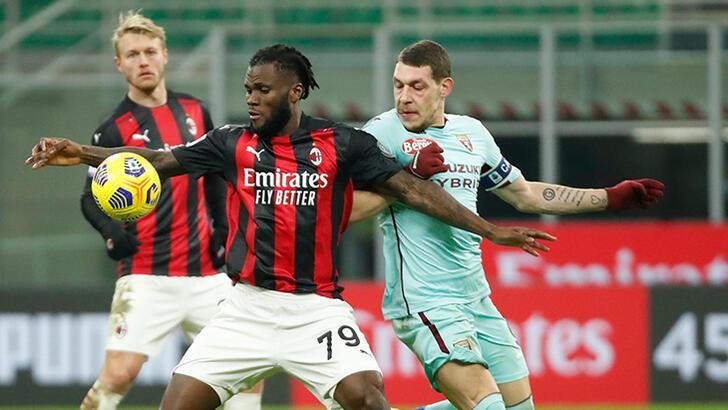 Milan, Torino karşısında zorlanmadı! Hakan Çalhanoğlu...