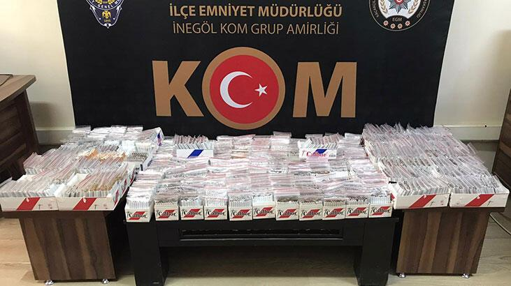 Bursa'da ele geçirildi! Tam 13 bin tane...