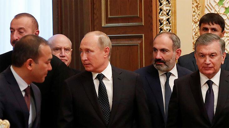 Son dakika... Putin, Aliyev ve Paşinyan'la görüşecek