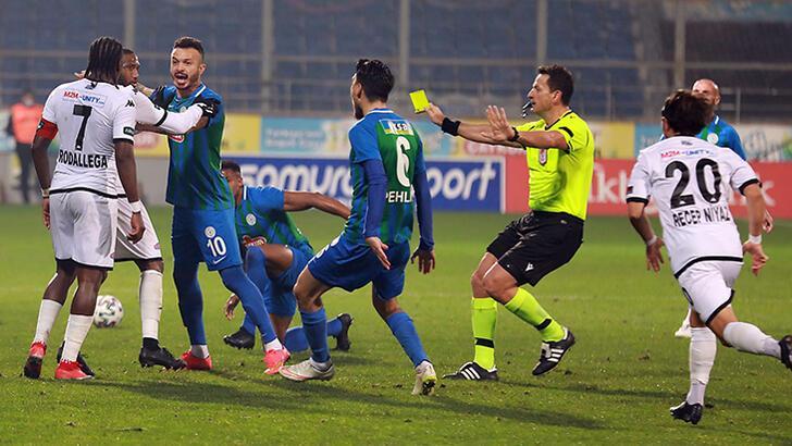 Denizlispor'dan Çaykur Rizespor maçı hakemlerine tepki