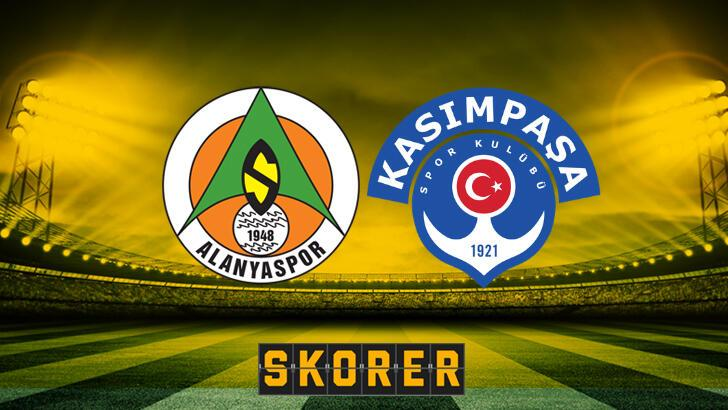 Alanyaspor-Kasımpaşa maçında muhtemel 11'ler...