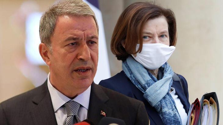 Son dakika... Fransız Bakanı'nın açıklamalarına Bakan Akar'dan yanıt: Şiddetle reddediyoruz