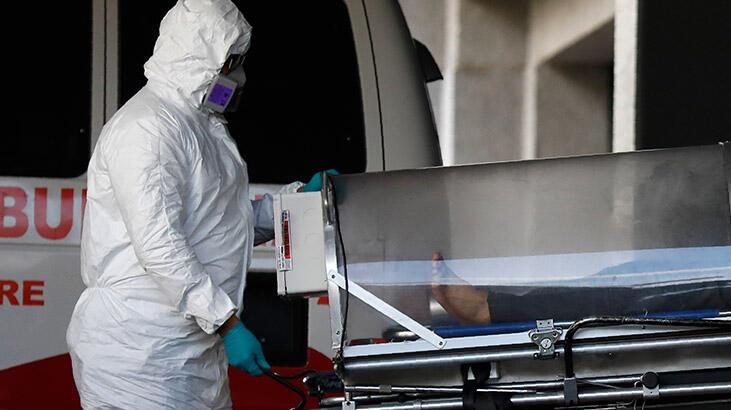 Meksika'da 24 saatte 662 kişi daha koronadan öldü!
