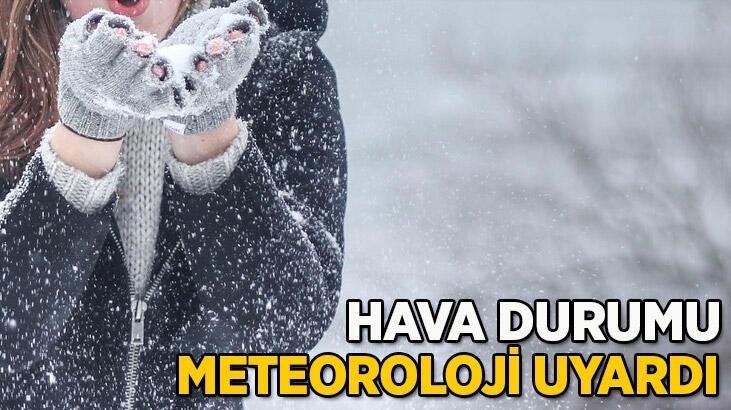 Meteoroloji son dakika hava durumu uyarısı! İstanbul'a kar ne zaman yağacak?
