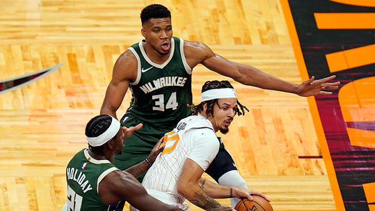 NBA'de Bucks, deplasmanda Magic'i yendi