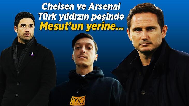 Son dakika transfer haberleri: Chelsea ve Arsenal, Türk yıldızın peşinde! Mesut Özil, Fenerbahçe'ye transfer olur olmaz...