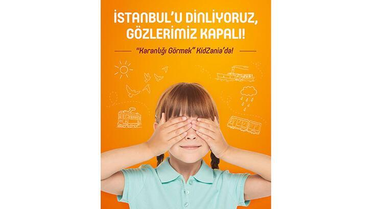 KidZania İstanbul'da 'Karanlığı Görmek' ile farkındalık yaratıyor