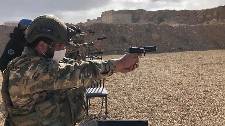 TSK'dan Libya Silahlı Kuvvetleri personeline 'Üs Savunma Eğitimi'