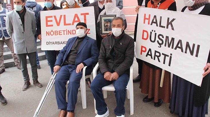 HDP önündeki evlat nöbetinde 499'uncu gün! Aile sayısı 188 oldu