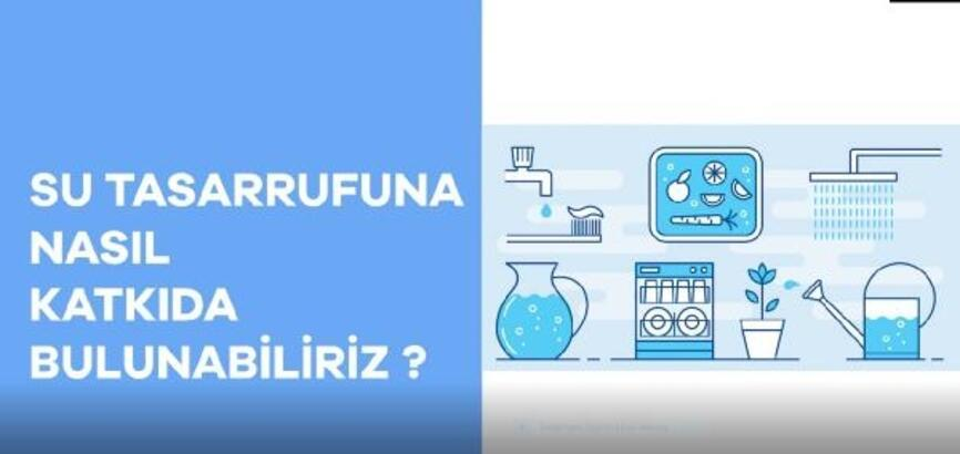 Beşiktaş Belediyesi'nden vatandaşlara su tasarrufu uyarısı