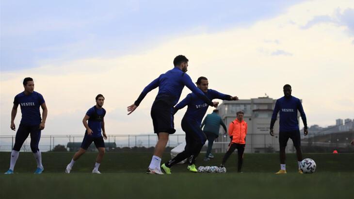 Trabzonspor, Antalyaspor maçı hazırlıklarını sürdürdü