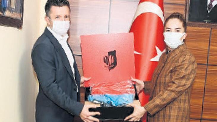 Uşakspor'dan Vali Kocabıyık'a ziyaret
