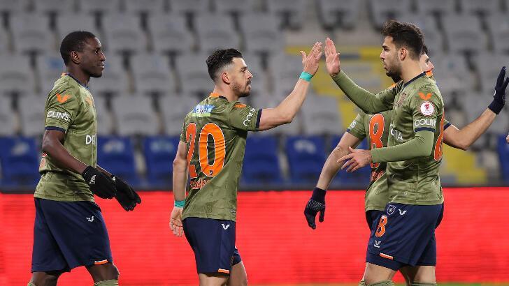 Tuzlaspor-Başakşehir: 1-5