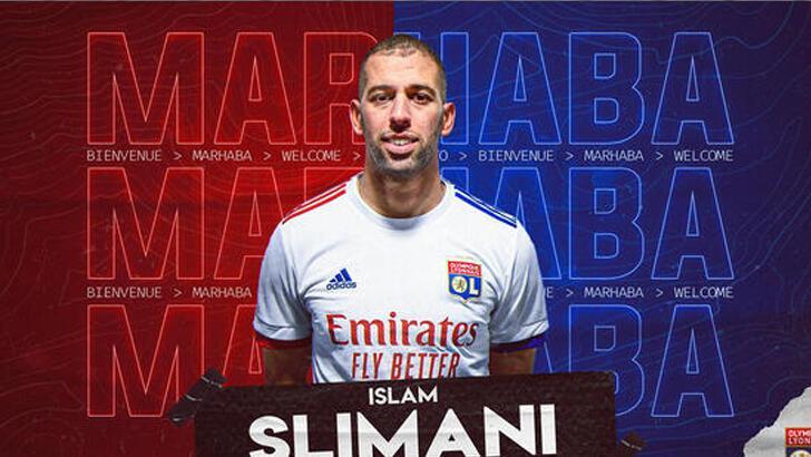 Lyon, Dembele'nin boşluğunu Slimani ile doldurdu