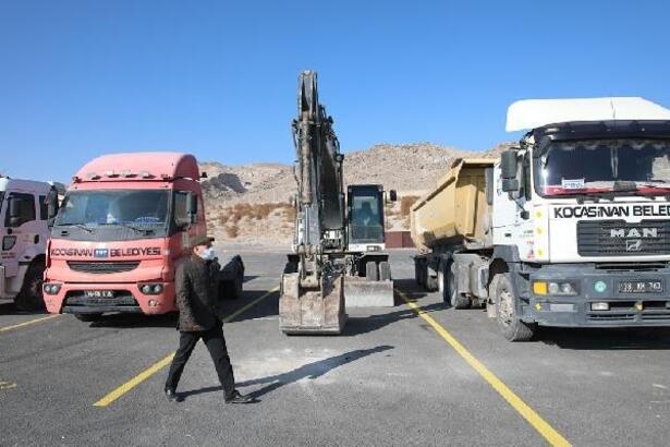 Kocasinan'da kar yağışı öncesi tedbirler alındı