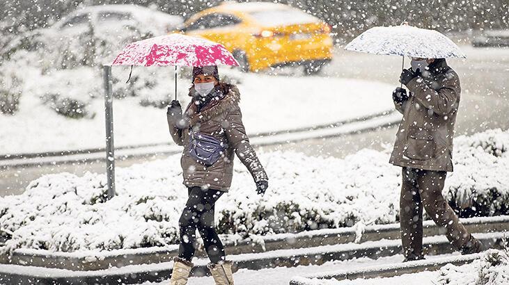 Türkiye'de beklenen kış manzaraları! Ankara'da kar