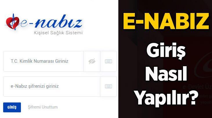 e Nabız giriş nasıl yapılır? E Nabız kayıt ol - e Nabız nedir?