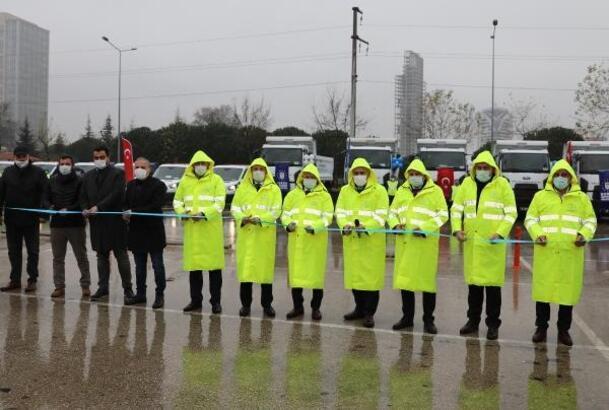 Bursa Büyükşehir Belediyesi hizmet filosu güçleniyor