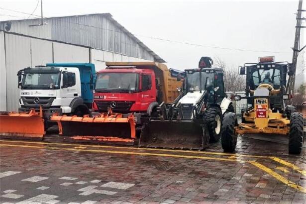 Süleymanpaşa Belediyesi kışa hazır
