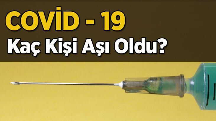 Kaç kişi aşı oldu? Aşının yan etkileri var mı? İşte covid 19 aşısı vurulan kişi sayısı