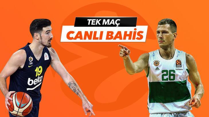 Fenerbahçe Beko-Panathianikos maçı Tek Maç ve Canlı Bahis seçenekleriyle Misli.com'da