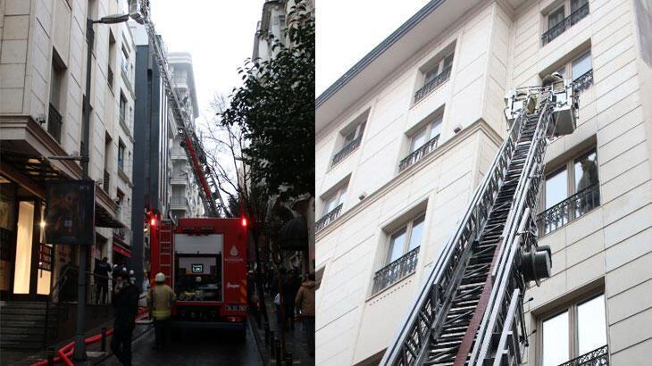 İstanbul'da ünlü mağazanın bulunduğu binada yangın paniği