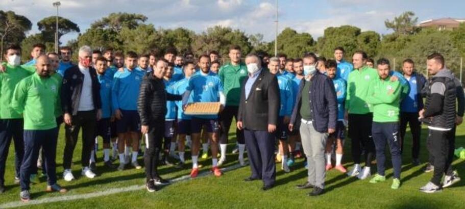TFF Temsilcisi Köksalan'dan, Serik Belediyespor'a ziyaret