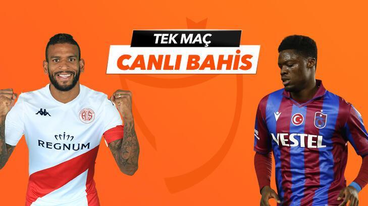 Antalyaspor-Trabzonspor canlı bahis heyecanı Misli.com'da