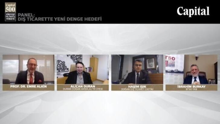BTSO Yönetim Kurulu Başkanı Burkay: Yakın coğrafyalarla işbirliğimizi artırmalıyız