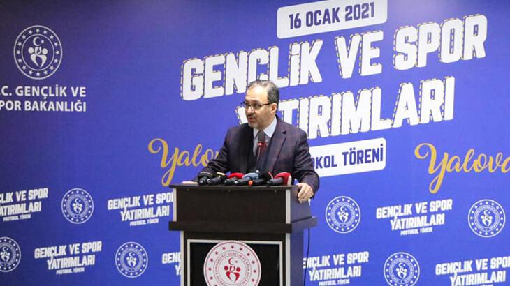 Gençlik ve Spor Bakanı Kasapoğlu: 'Yalova, su sporları merkezi olacak'