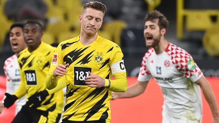 Borussia Dortmund'da şok puan kaybı!